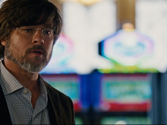 """Brad Pitt plays a trader who bets against the housing market in """"The Big Short."""""""