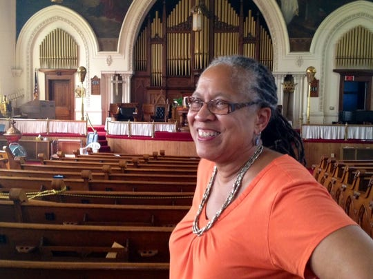 The Rev. Jamesetta Ferguson is the senior pastor of