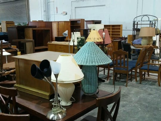 Furniture and furnishings filled the Murfreesboro Salvation