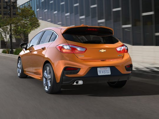 Chevrolet's 2017 Cruze hatchback will go on sale this fall. It is aimed at buyers who are comfortable with the dimensions of a compact sedan, but a little more cargo space.
