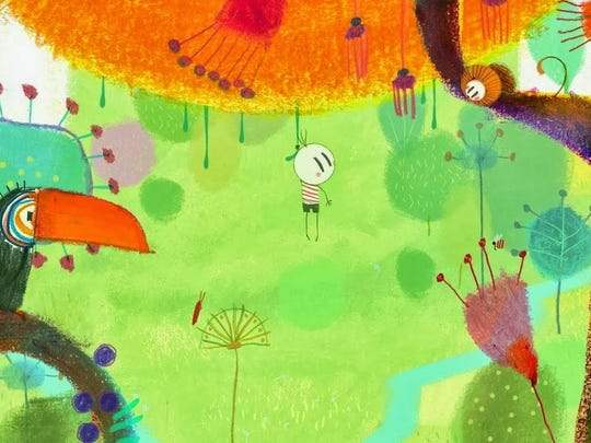 """An image from the Oscar-nominated """"Boy and the World."""""""
