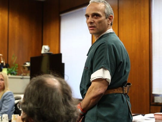 Jon Peditto is sentenced to 8 years in prison for growing 17 marijuana plants out in the Pinelands. Superior Court Judge James M. Blaney sentenced Peditto.Toms River, NJ Friday, January 29, 2016@dhoodhood