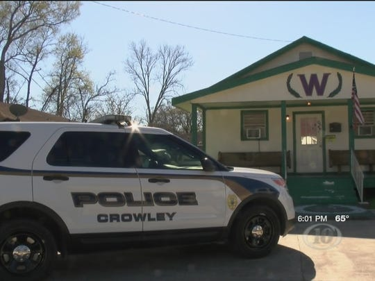 Crowley police are investigating vandalism at churches in the areas.