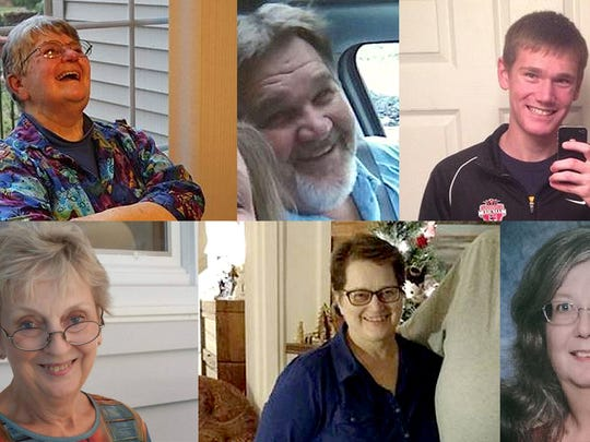 The victims of the Kalamazoo mass shootings.