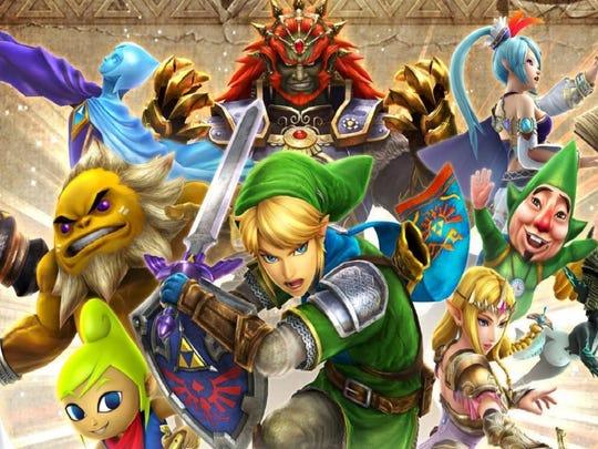 Hyrule Warriors Legends for the Nintendo 3DS.