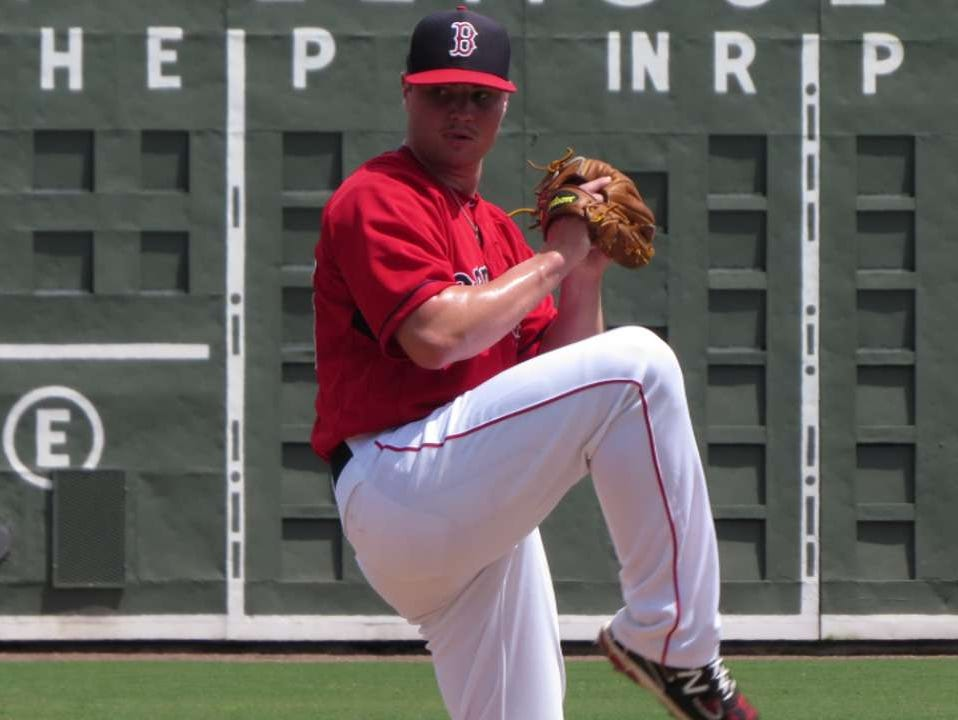 Fletcher teenager Logan Allen was traded from the Boston Red Sox organization to the San Diego Padres in November.