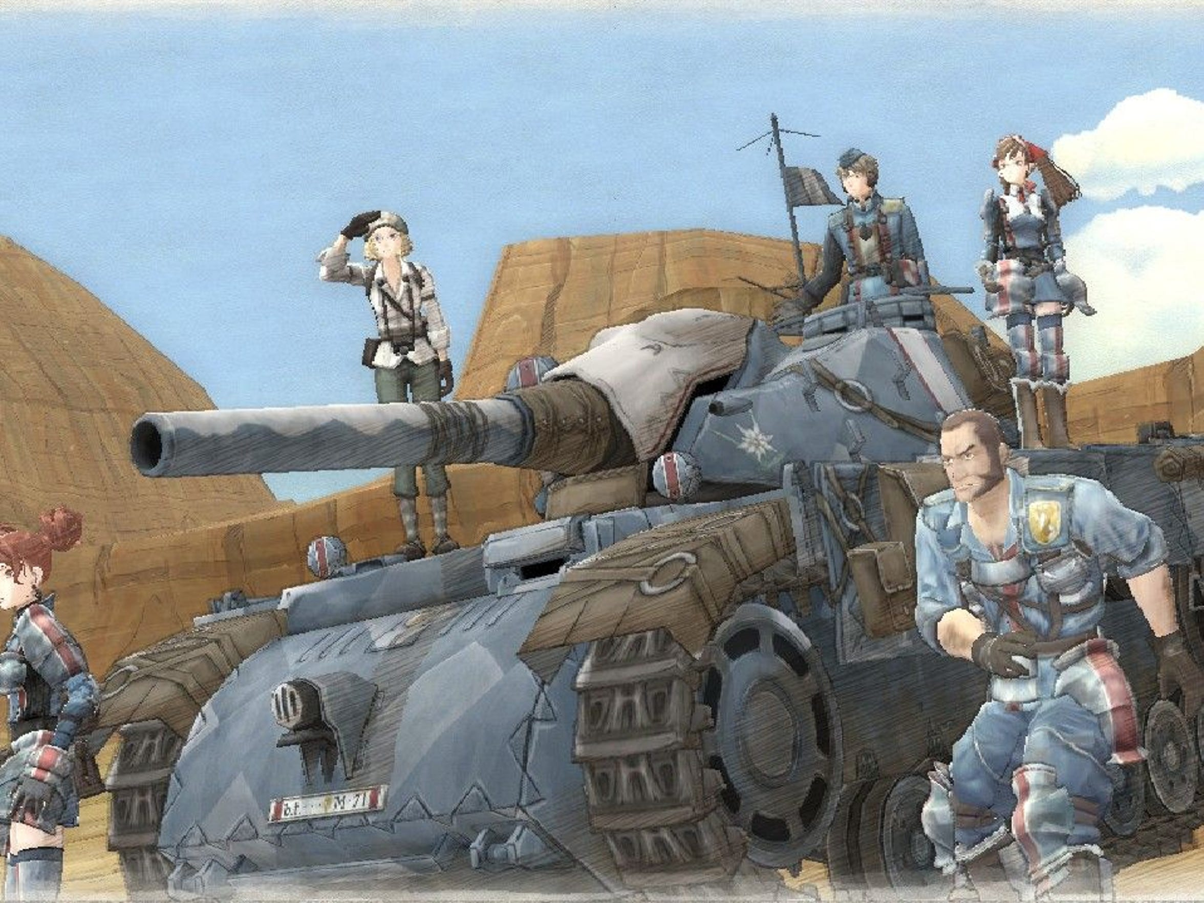 Meet the gang of Valkyria Chronicles Remastered.