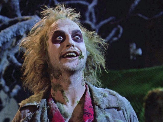 """Celebrate the 30th anniversary of Tim Burton's classic, """"Beetlejuice,"""" at The Majestic 11 movie theater in Vero Beach."""