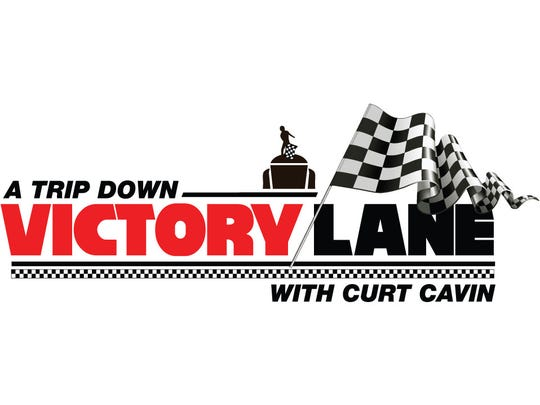 Victory Lane with Curt Cavin logo