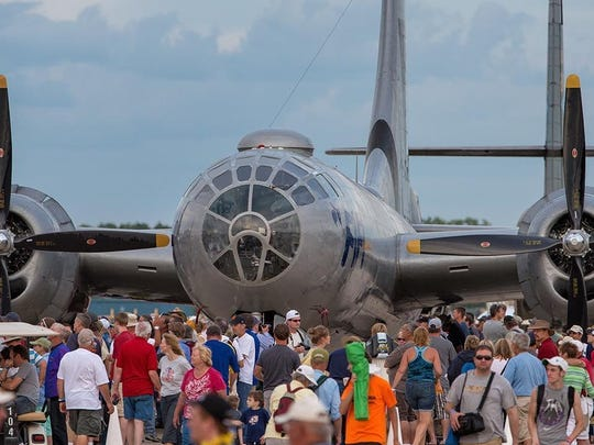 EAA AirVenture draws tens of thousands of people to Oshkosh every year. This year's event runs through July 31.