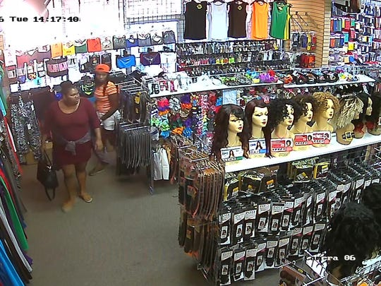 These women are persons of interest in a theft investigation at Beauty World on Vann Drive in Jackson.