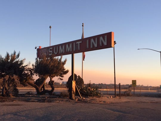 The landmark Summit Inn was among the structures destroyed