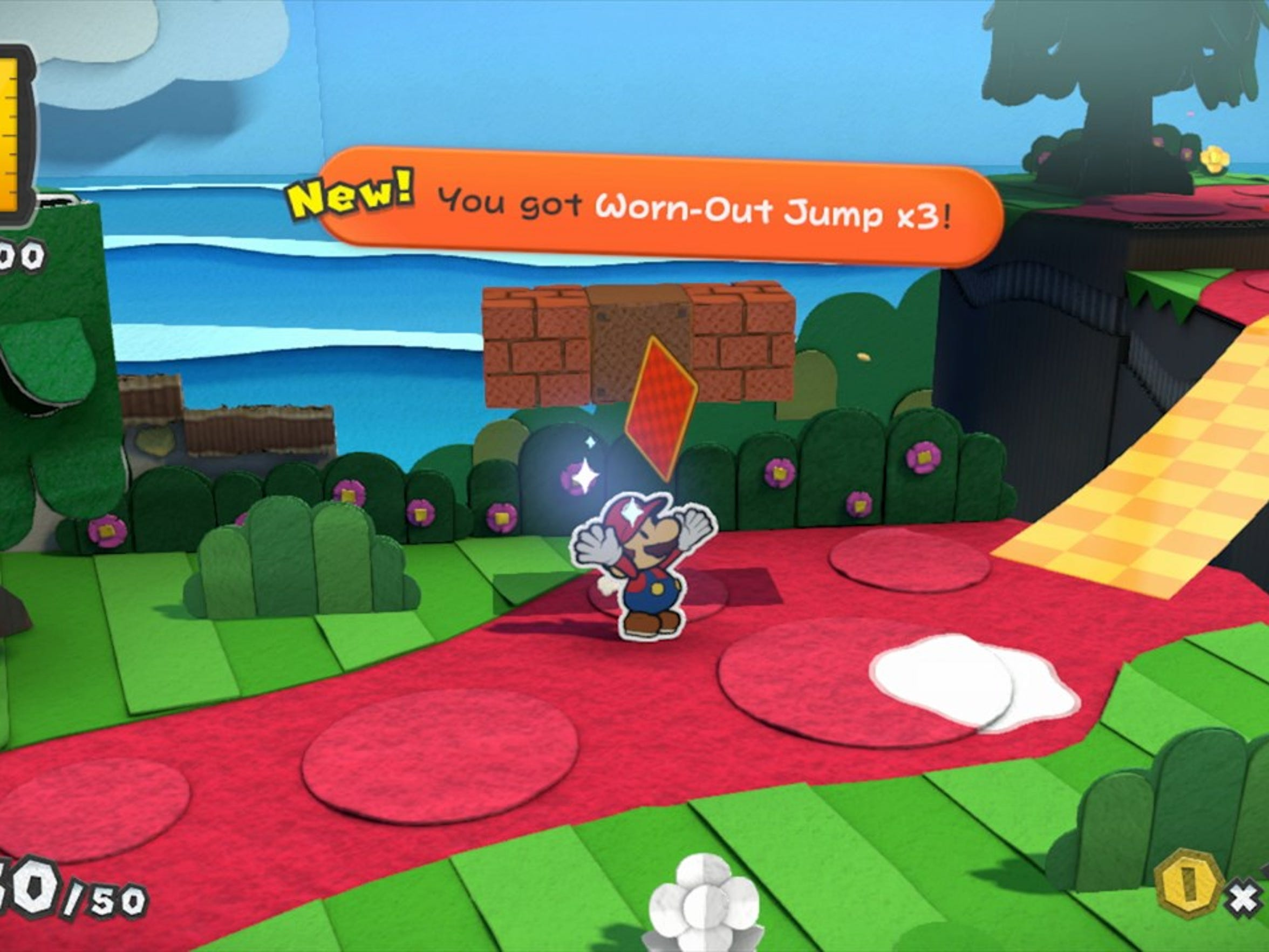 "Pick a card, any card in ""Paper Mario: Color Splash."""