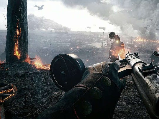 Battlefield 1 goes back, all the way back, to World