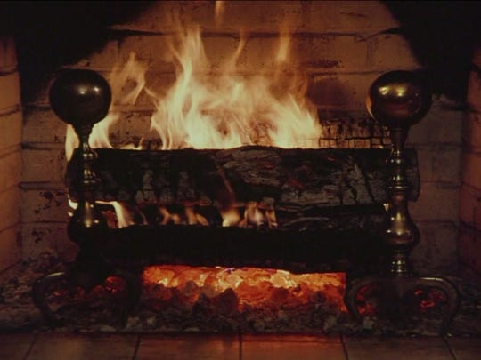 The new and improved Yule Log, introduced by PIX11