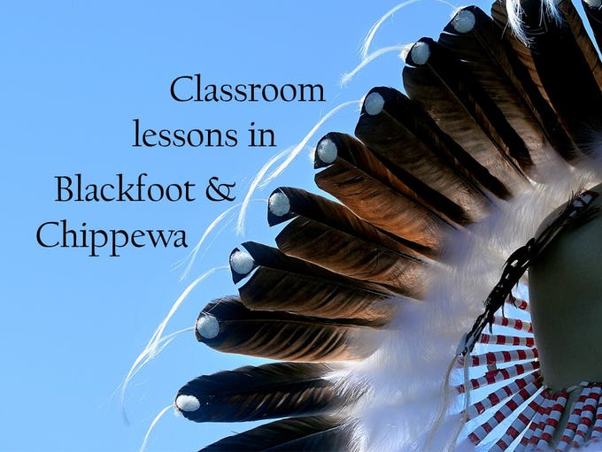 Lessons in Blackfoot and Chippewa