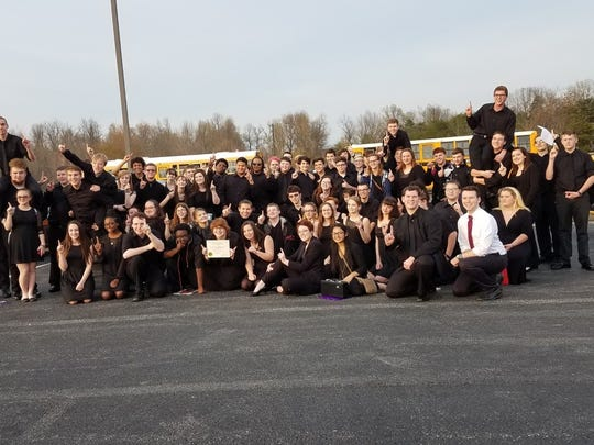 The Henderson County High concert and symphonic band.