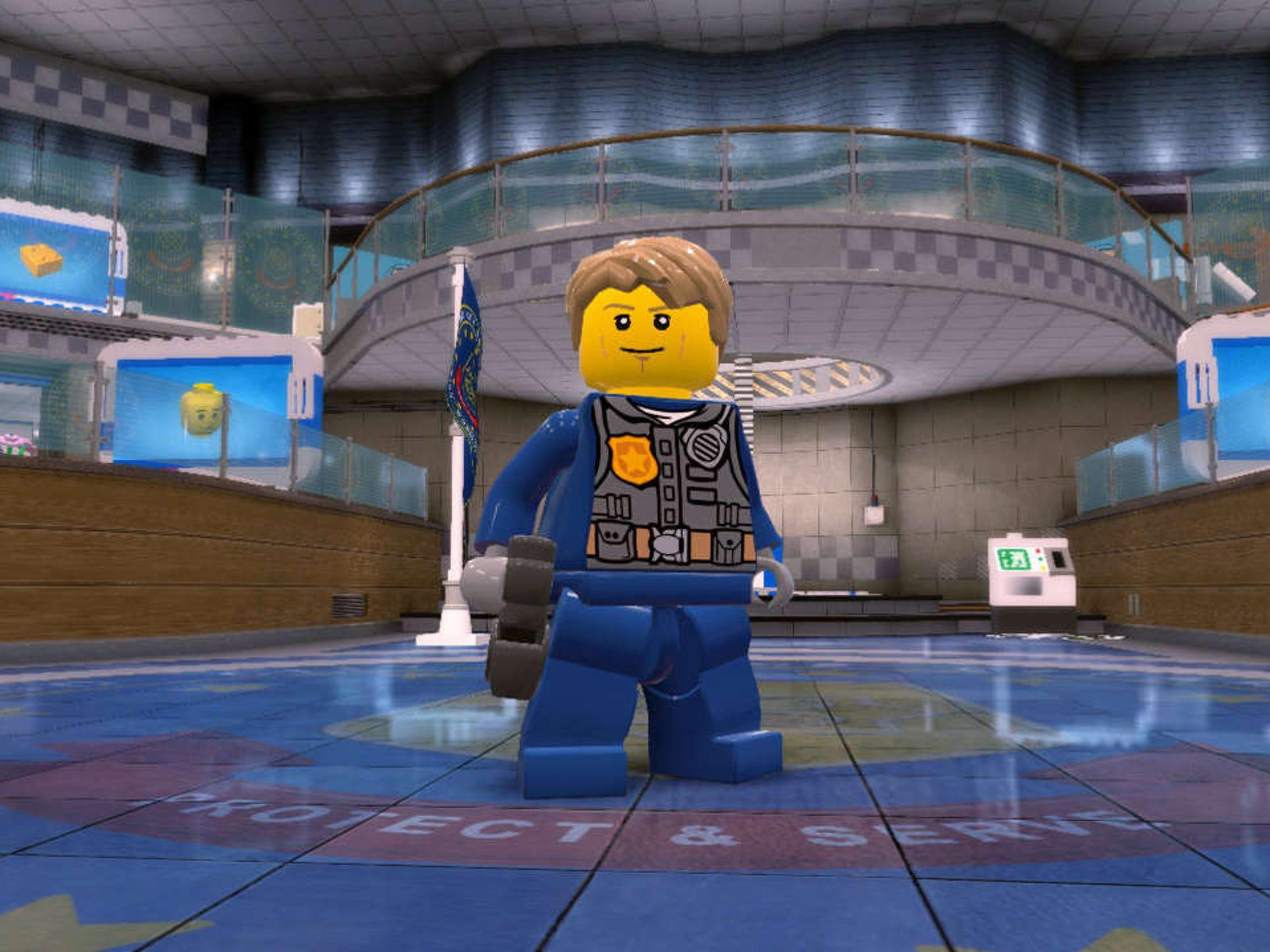 Lego City Undercover.
