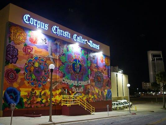 Caller-Times mural