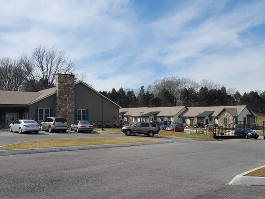 The first phase of The Village included the community center and a six-unit apartment complex. The Restoration House of East Tennessee is now building 12 more apartments and may add another six.