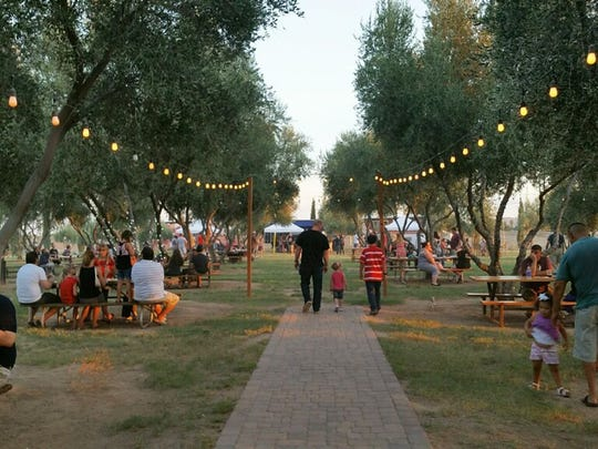 Queen Creek Olive Mill holds annual events such as Labor Day Grill at the Mill.