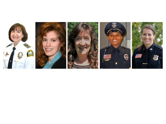 Panel participants for current issues in law enforcement