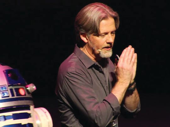 Chris Lee, one of the first stormtroopers, will headline Science Cafe on Oct. 12 at Discovery Center at Murfree Spring.