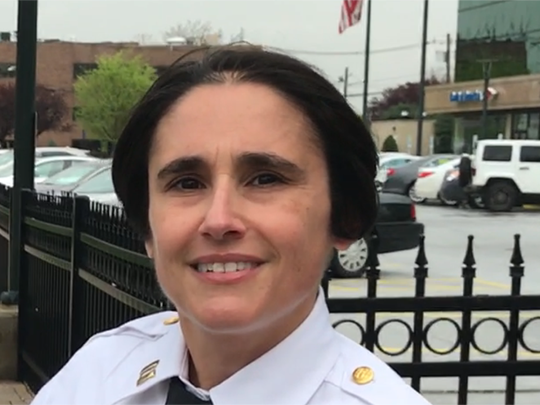 Capt. Nicole Foley heads the Hackensack Police Department's