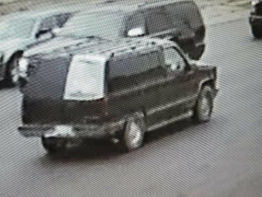 Detroit Police on Saturday release a surveillance camera