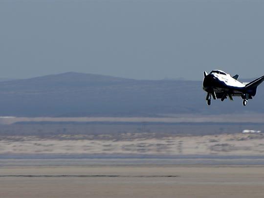 A prototype Sierra Nevada Corp. Dream Chaser mini-shuttle