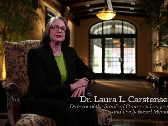 Dr. Laura Carstensen is founder/director of the Stanford Center on Longevity.