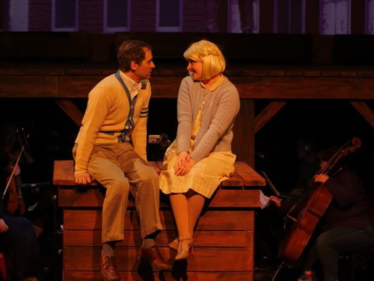 "Jason Gingold (with Kylee Gano) in ""BIg Fish."""