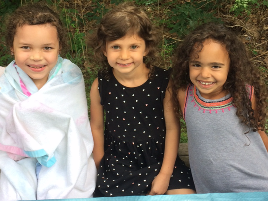 Kids at camp at Playgarden in 2017.