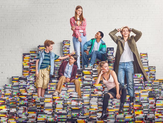 "Quinn Liebling (left) stars in Netflix's ""Everything"