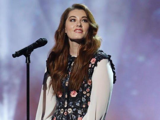 Mandy Harvey has built a career as a singer-songwriter