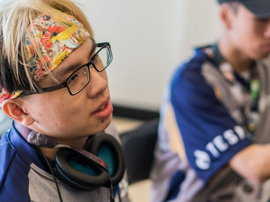 Gene Pal, 19-year-old sophomore at UC San Diego who studies economics, said he does esports for fun.