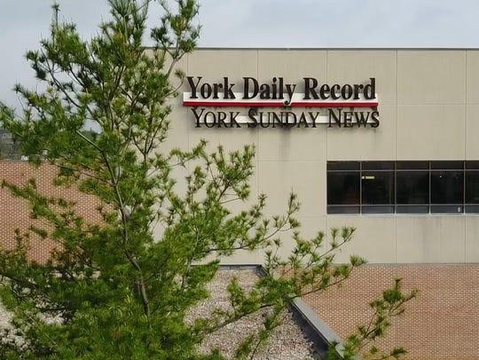 Exterior of York Newspaper Co. building.