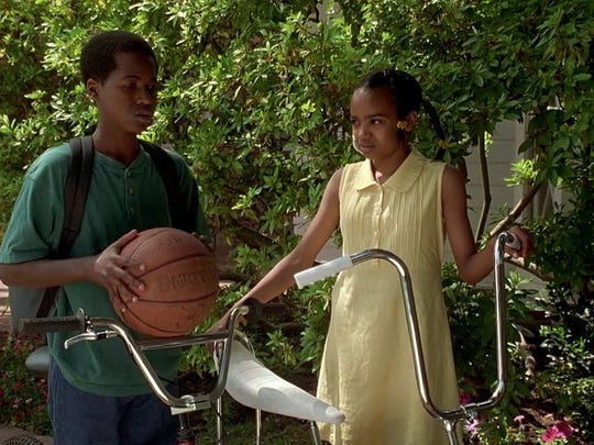 "A relationship that begins in childhood and continues into young adulthood is chronicled in ""Love & Basketball."""
