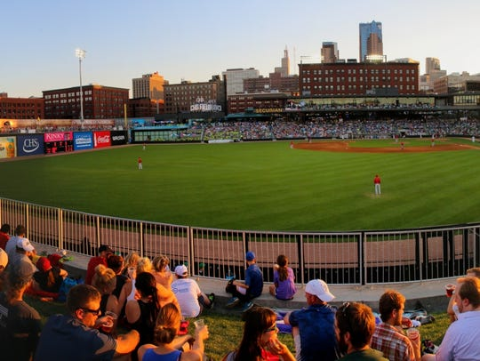 CHS Field, the new St. Paul Saints ballpark, is one