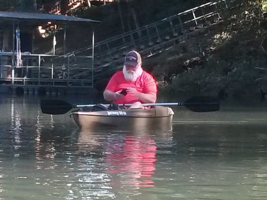 Kayak paddler Donald Wright, 64, lost his life Saturday