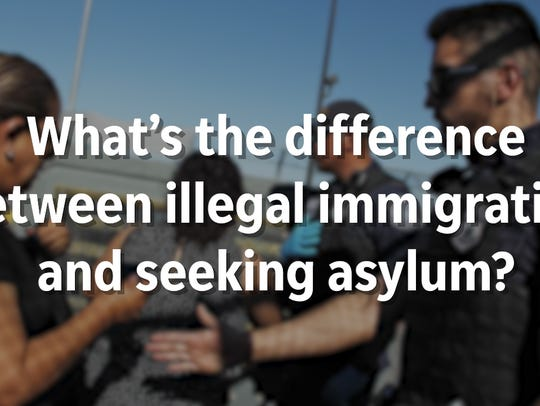 What's the difference between illegal immigration and