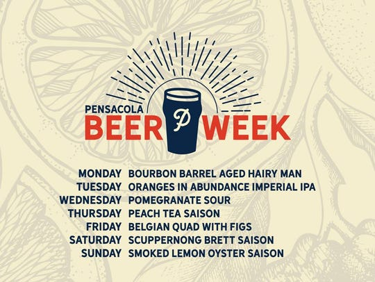 Pensacola Beer Week will be hosted by Perfect Plain
