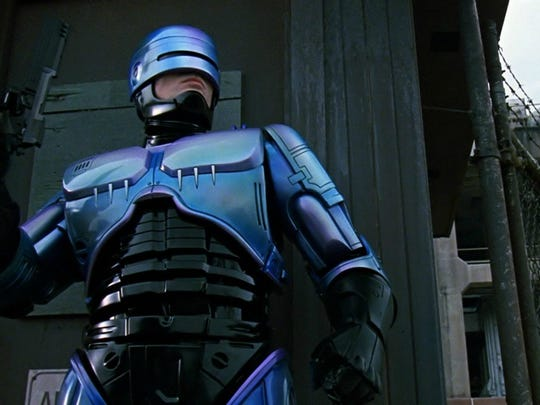 RoboCop, a futuristic look at technology and policing,
