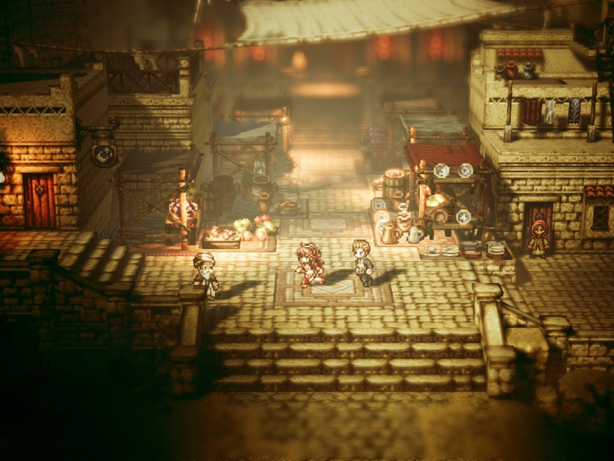 Octopath Traveler for the Nintendo Switch.