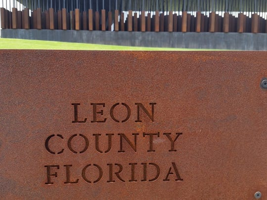 Leon County is seen at the lynching memorial in Montgomery,