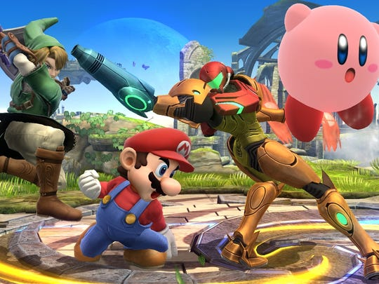 "Hectic Nintendo-style brawling is back once again with ""Super Smash Bros."" for the Wii U."