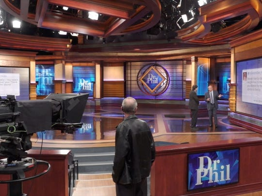Dr. Phil McGraw with USA TODAY's Jefferson Graham