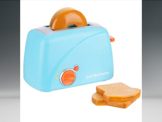 Just Like Home Toy Set : Toy toasters under recall