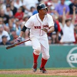 From July 1 last year to June 30 this year, Red Sox shortstop Xander Bogaerts batted .343 with 13 home runs, 110 runs scored and 98 RBI.