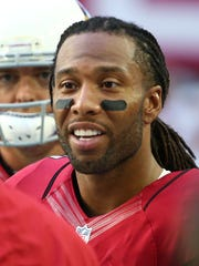 Arizona Cardinals wide receiver Larry Fitzgerald will